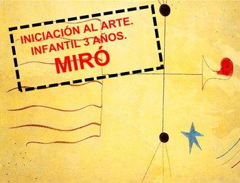 Arte infantil con Joan Miró
